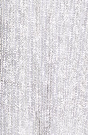 Alternate Image 3  - Eileen Fisher Shimmer Crop Cardigan (Petite)
