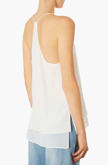 Alternate Image 2  - Topshop Silk Chiffon Camisole