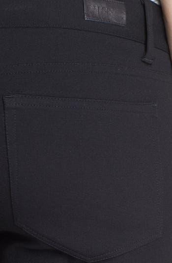 Alternate Image 3  - Paige Denim 'Emily' Leather Panel Pants