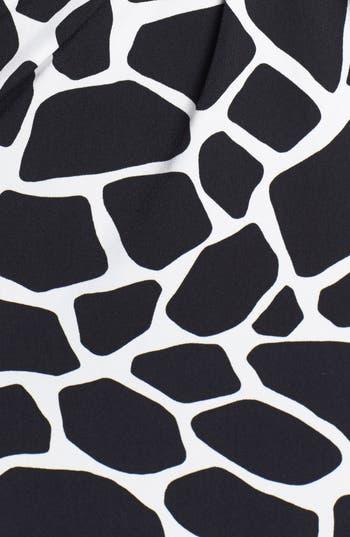 Alternate Image 3  - Chaus Modern Giraffe Print Dress