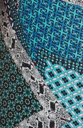 Alternate Image 3  - Mimi Chica Patchwork Print Maxi Dress (Juniors Plus)