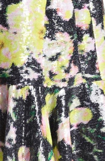 Alternate Image 3  - Erdem 'Kelis' Sequin Rose Print Dress