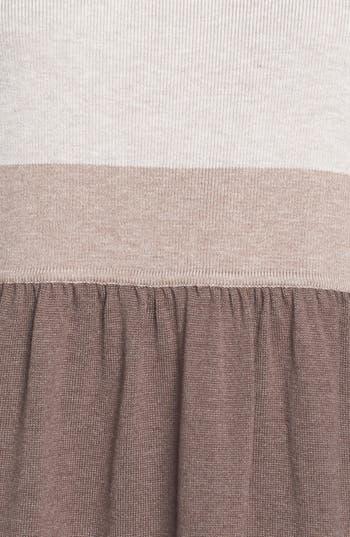 Alternate Image 3  - Eliza J Colorblock Sweater Dress