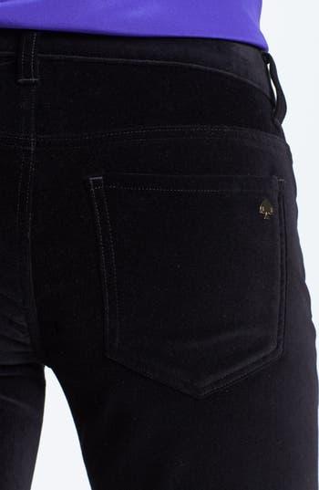 Alternate Image 3  - kate spade new york straight leg velvet pants