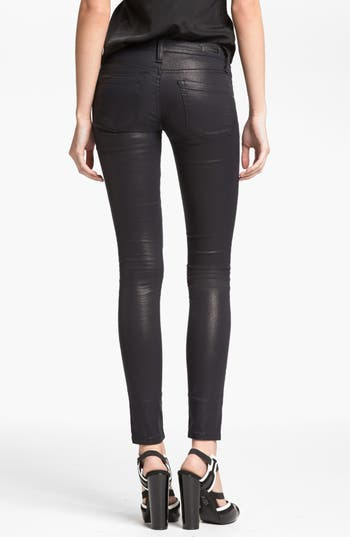 Alternate Image 2  - BLANKNYC 'Spray On' Super Skinny Jeans (Starman)