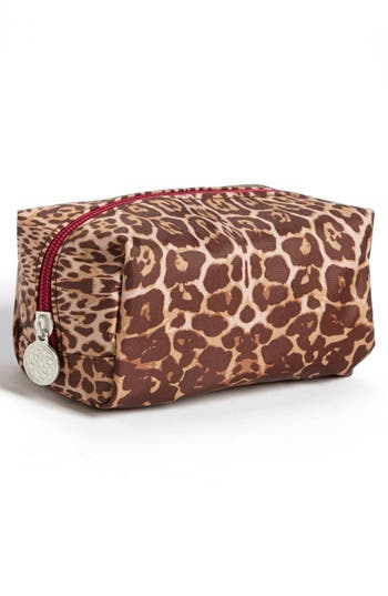 Alternate Image 4  - Tri-Coastal Design 'Leopard' Print Cosmetics Case (Set of 4)