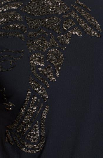 Alternate Image 3  - Versace Collection Metallic Medusa Logo T-Shirt