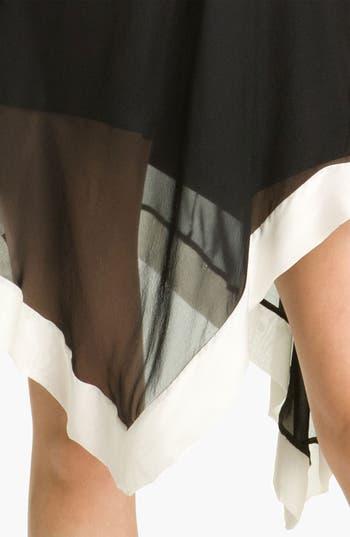 Alternate Image 3  - A.B.S. by Allen Schwartz One Shoulder Silk Dress
