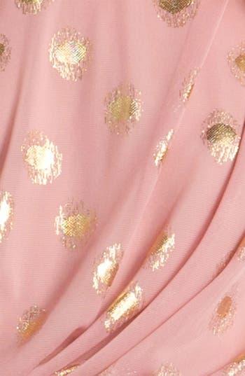 Alternate Image 3  - Adrianna Papell One Shoulder Chiffon Dress
