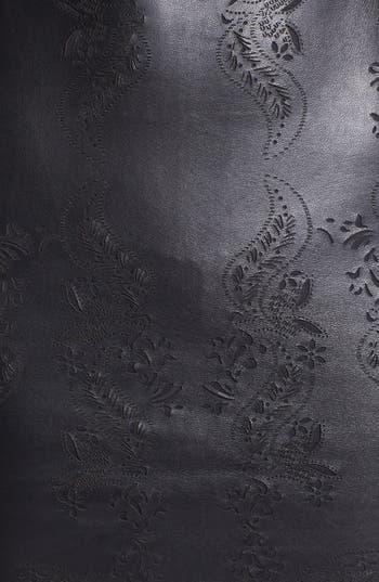 Alternate Image 3  - Dolce Vita Laser Cut Leather Sheath Dress