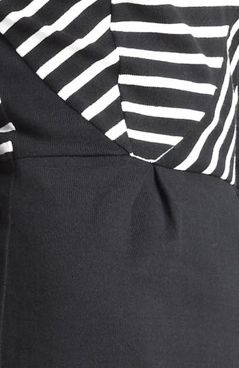 Alternate Image 3  - Band of Outsiders Atari Stripe Print Dress