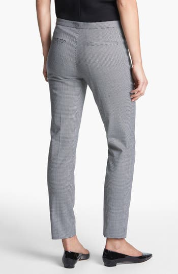 Alternate Image 2  - Theory 'Fia' Houndstooth Check Cigarette Pants