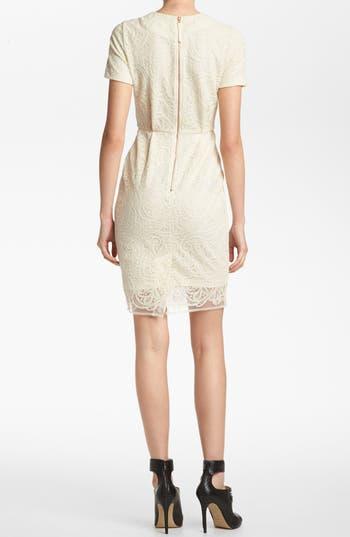 Alternate Image 2  - Topshop 'Elfin' Lace Sheath Dress