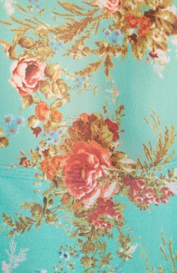Alternate Image 3  - Wayf Floral Fringe Cardigan