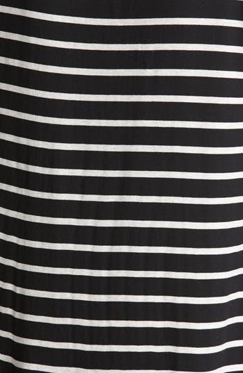 Alternate Image 3  - Ella Moss Studded Neck Stripe Top