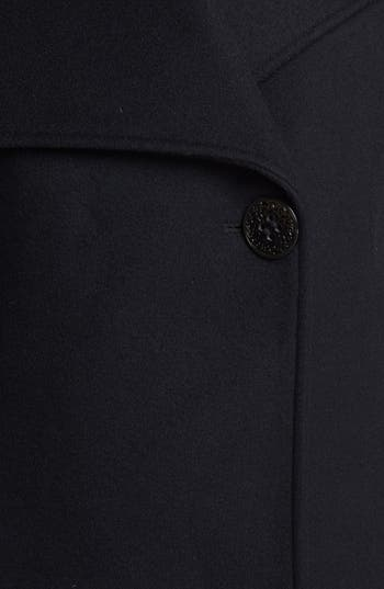 Alternate Image 3  - Elie Tahari 'Carlotta' Leather Trim Wool Blend Coat