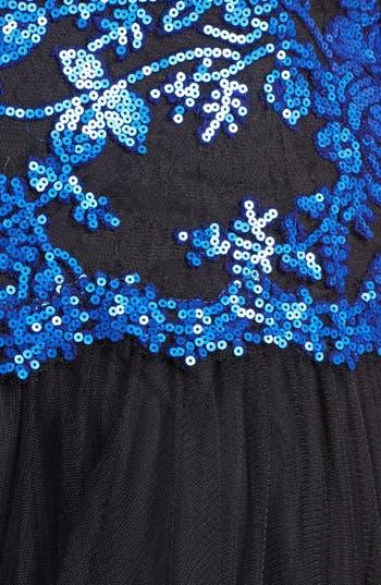 Alternate Image 3  - Tadashi Shoji Embellished Lace & Tulle Gown (Plus Size)