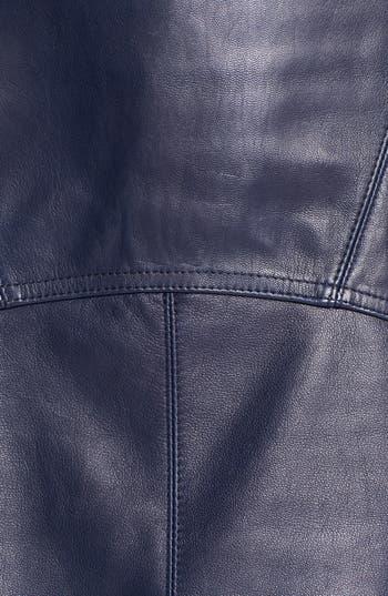 Alternate Image 3  - T by Alexander Wang Lightweight Leather Skirt