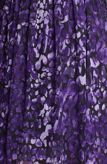 Alternate Image 3  - Hailey by Adrianna Papell Cross Back Print Chiffon Maxi Dress