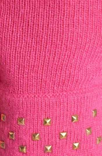 Alternate Image 2  - kate spade new york stud cuff merino wool gloves