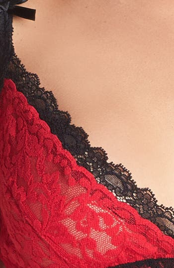 Alternate Image 4  - Hanky Panky 'Retro' Contrast Trim Lace Bralette