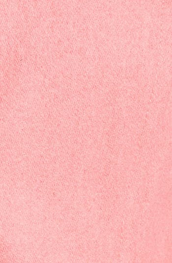Alternate Image 3  - Tulle Button Detail Wool Coat (Juniors)