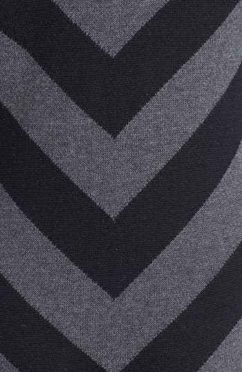 Alternate Image 3  - Rubbish® Stripe V-Neck Sweater Maxi Dress (Juniors)