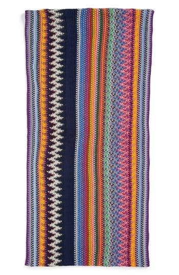 Alternate Image 2  - Lulu Bright Stripe Infinity Scarf