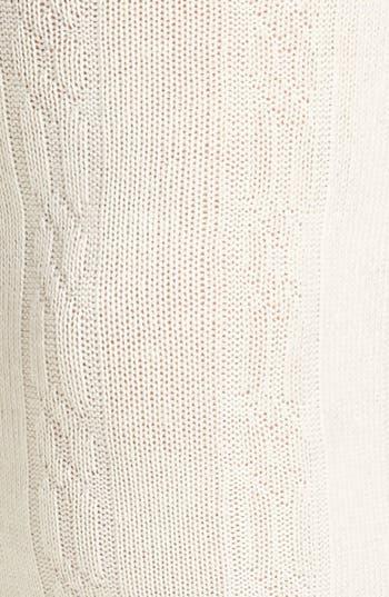 Alternate Image 2  - BP. Textured Sweater Tights (Juniors)