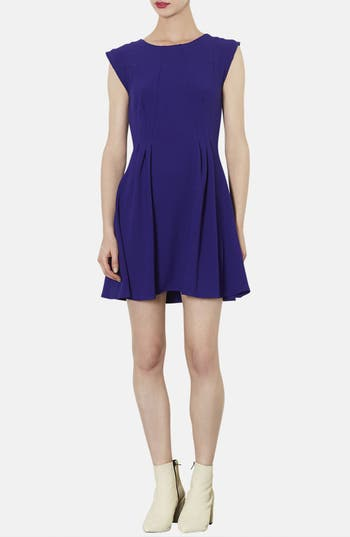 Main Image - Topshop Crepe Fit & Flare Dress