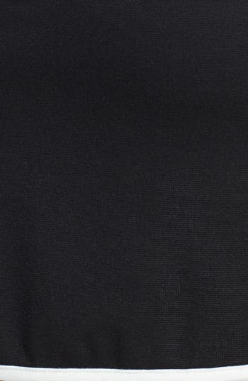 Alternate Image 3  - Painted Threads Contrast Trim Miniskirt (Juniors) (Online Only)