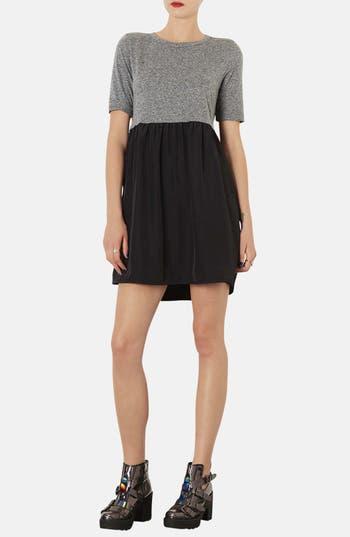 Alternate Image 1 Selected - Topshop Colorblock Smock Dress