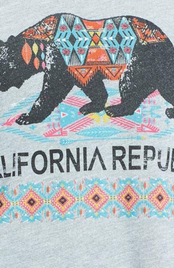 Alternate Image 3  - Project Social T 'CA Bear' Sweatshirt (Juniors)