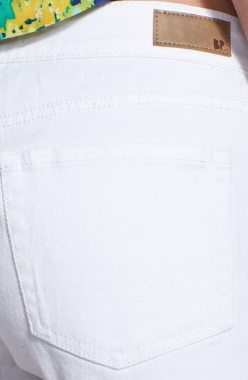 Alternate Image 3  - BP. 'Basic' Denim Shorts (Juniors)