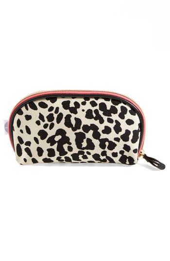 Alternate Image 3  - steph&co. 'Leopard' Nylon Mini Dome Cosmetics Case (Nordstrom Exclusive)