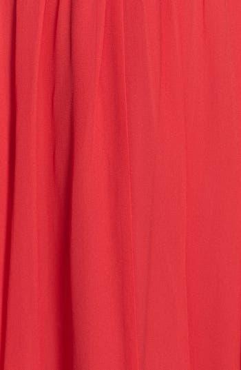 Alternate Image 3  - Ivy & Blu Front Knot Chiffon Dress (Petite)