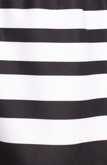 Alternate Image 3  - PPLA Button Back Stripe Skirt (Juniors)