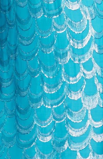 Alternate Image 3  - Laundry by Shelli Segal Metallic Back Bow Trapeze Dress