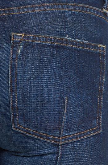 Alternate Image 3  - Vince Welt Pocket Skinny Stretch Jeans (Dirty Vintage)