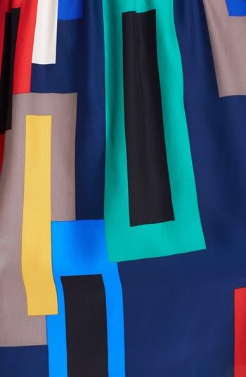 Alternate Image 3  - ALICE & TRIXIE 'Danielle' Print Silk Shirtdress
