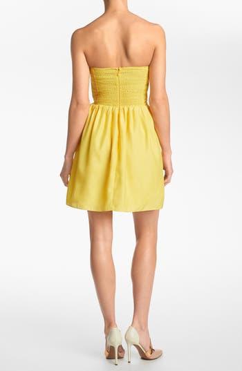 Alternate Image 2  - Devlin Strapless Dress