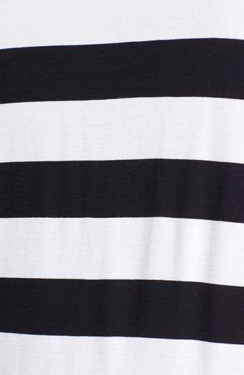 Alternate Image 3  - Two by Vince Camuto Mix Stripe Tee (Plus Size)