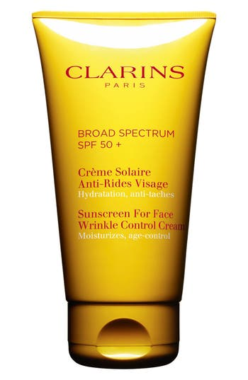 CLARINS 'Sunscreen for Face' Wrinkle Control Cream SPF