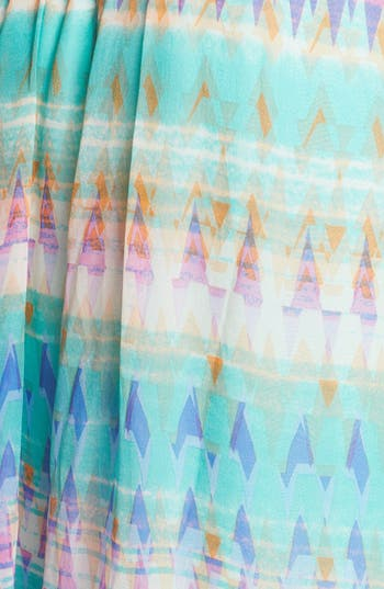 Alternate Image 3  - Presley Skye Print Silk Maxi Dress