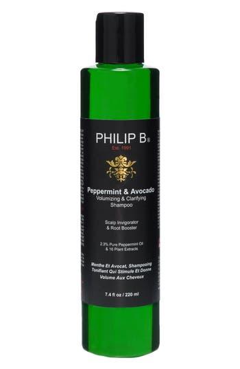 Alternate Image 1 Selected - SPACE.NK.apothecary PHILIP B® Peppermint & Avocado Volumizing & Clarifying Shampoo
