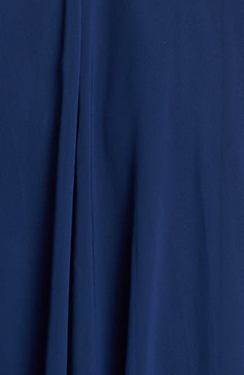 Alternate Image 3  - La Femme Lace Bodice Ball Gown