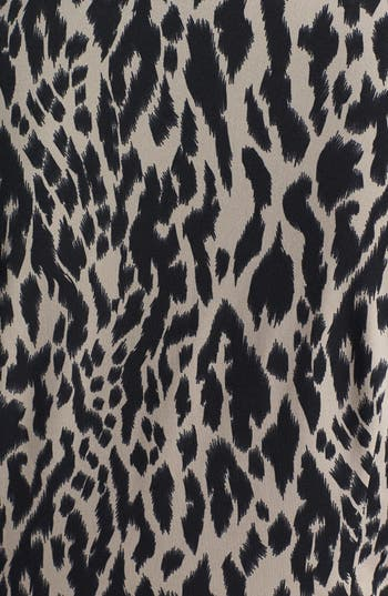 Alternate Image 3  - Vince Camuto Animal Print Ruched Sheath Dress (Plus Size) (Online Only)