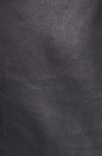 Alternate Image 3  - Trouvé Leather Front Body-Con Dress