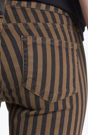 Alternate Image 3  - Paige Denim 'Skyline' Ankle Jeans (Olive Branch London Stripe)
