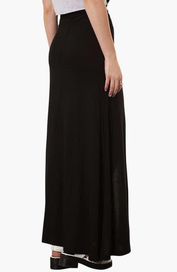 Alternate Image 2  - Topshop Front Slit Maxi Skirt